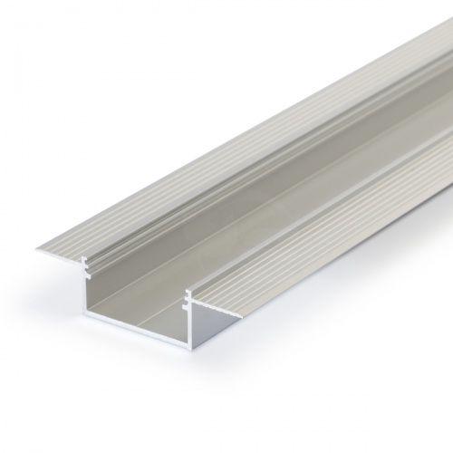 LED profile VARIO30-04, recessed, 2m, TOPMET