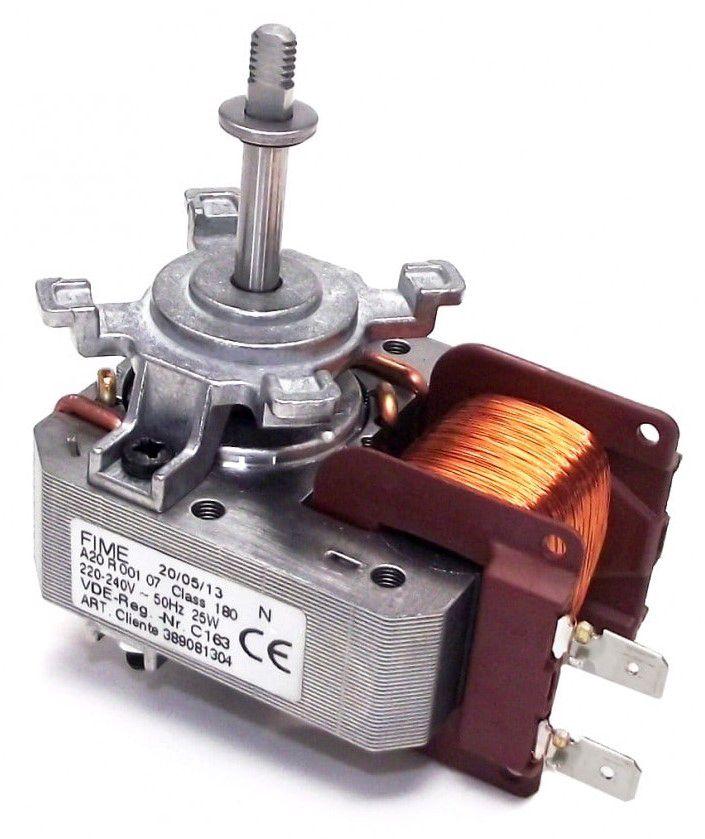 Ventilaatori mootor 3890813045 25W ahjule AEG, ELECTROLUX, ZANUSSI