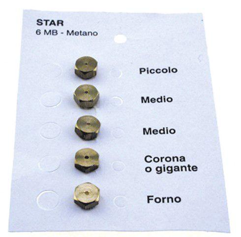 Düüsid 6MB GPL 0.50-0.70-0.70-0.90-0.950 STAR (kompl.)