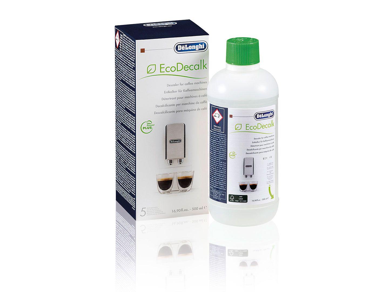 Kohvimasina puhastusvahend, katlakivi eemaldamiseks, EcoDecalk DELONGHI, 500ml