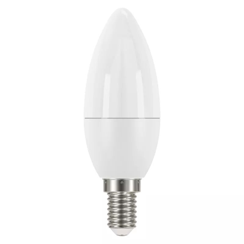 LED bulb E14 230V 6W 470lm, Classic Candle, neutral white, 4100K, EMOS