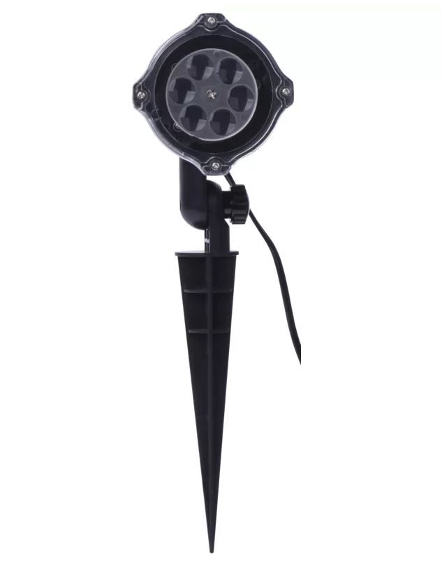 """LED projection luminaire """"snowflakes"""", 4W, IP44, EMOS"""