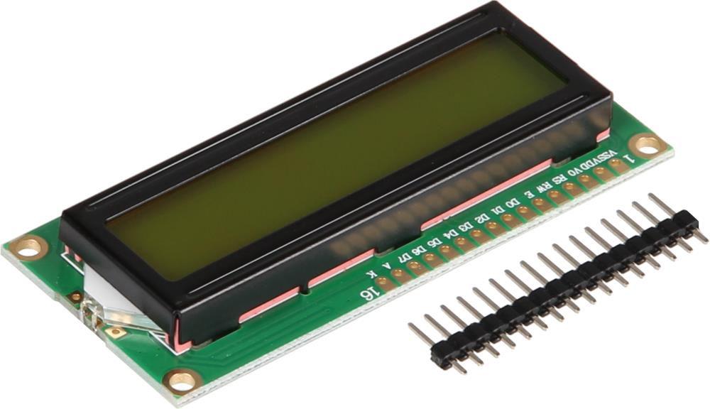 Joy-iT 16x2 LCD Character display with PIN header