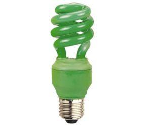 Säästulamp E27, 13W, 240 V, roheline