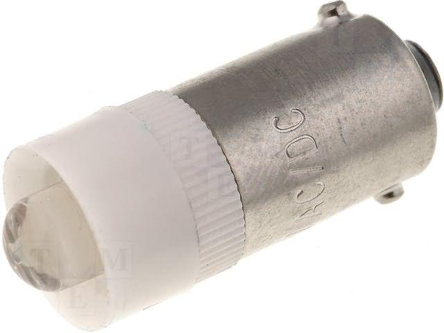 Signaallamp LED BA9S 24V valge 2000mcd