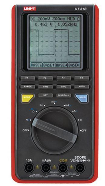 Multimeeter UT81B CATII, CATIII, ostsiloskoop, sageduse, mahtuvuse, temperatuuri mõõtmine, pidev ahel, UNI-T
