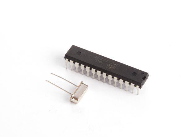 Minikontroller ATMEGA328P Arduino UNO käivitus programmiga (BOOTLOADER) ja 16MHz kvartsiga