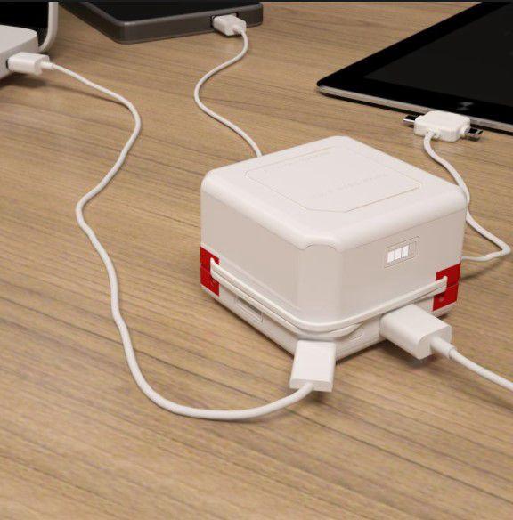 USB šakotuvai, koncentratoriai