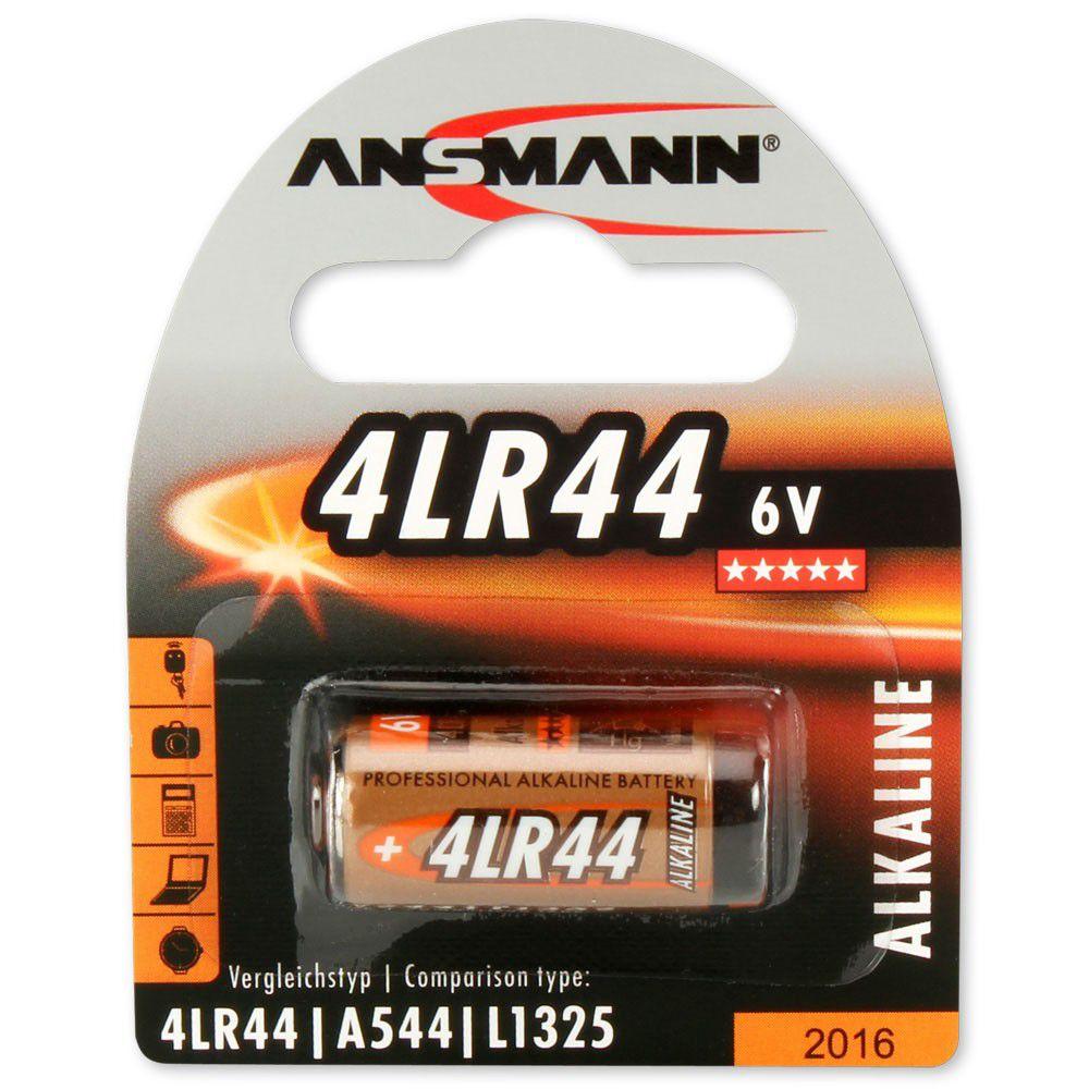 Šarminė baterija 4LR44 (476A) 6V ANSMANN