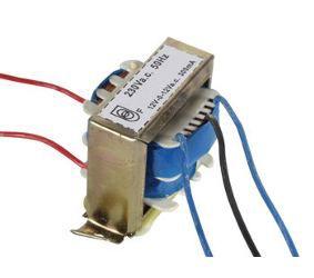 Transformatorius 230V/2x12V 2x0.3A 7.2W