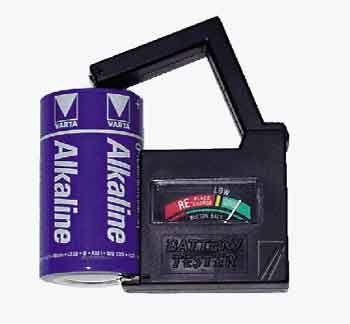 Baterijų testeris BT1 1.5-9V