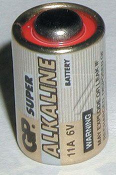 Šarminė baterija GP11A 6V GP