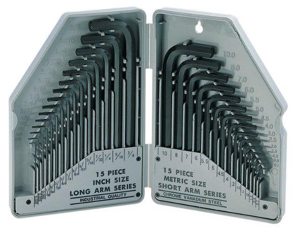 L-raktų rinkinys 30 vnt. ProKit's 8PK-027