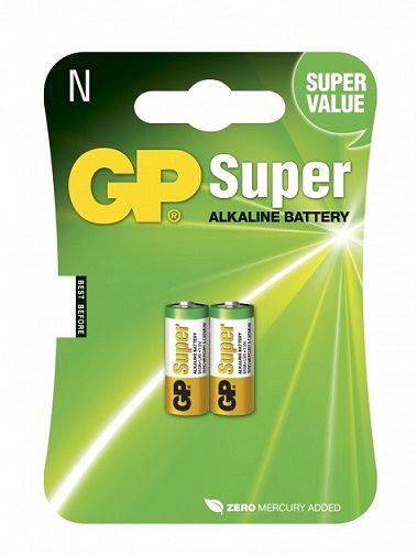 Šarminė baterija 910A (LR1, MN9100, E90, AM5, N) 1.5V GP (2vnt pakuotėje)
