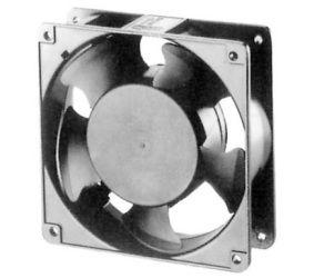 Ventiliatorius 120x120x38mm 230VAC 23W 165m³/h 44.5dBA su įv.  SUNON RoHS