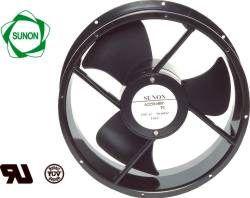 Ventiliatorius Ø254x89mm 230VAC 56W 1444m³/h 56.0dBA su g. SUNON RoHS