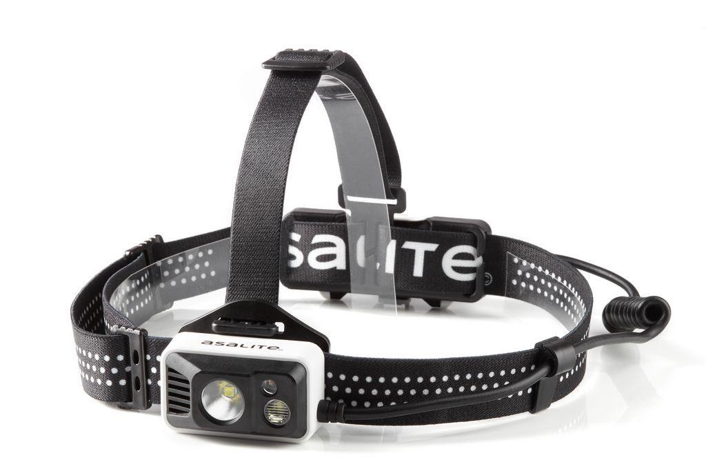 Įkraunamas žibintuvėlis ant galvos, CREE LED 5W + 1W +0.5W (raudona), 1x2200mAh 18650, ASALITE