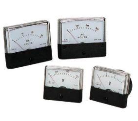 Panelinis rodyklinis voltmetras AC 300V 60x47mm