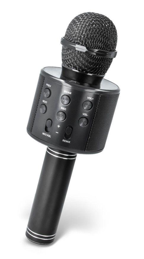 Belaidis Bluetooth garsiakalbis - mikrofonas 3W, juodas