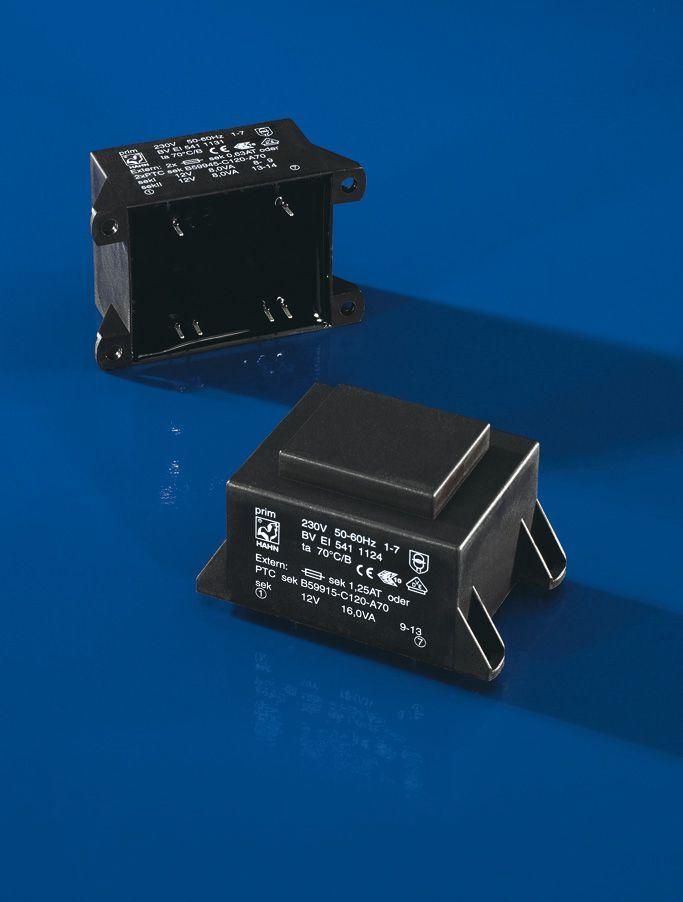 Transformatorius 230V/2x15V 2x0.534A 16W Hahn, RoHS