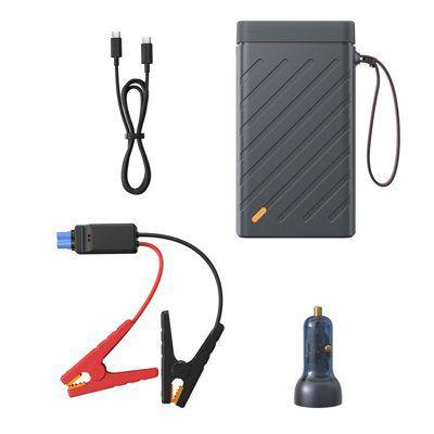 LiPo išorinis akumuliatorius (Powerbank) su automobilio užvedimo funkcija ir 220V 100W išėjimu BASEUS