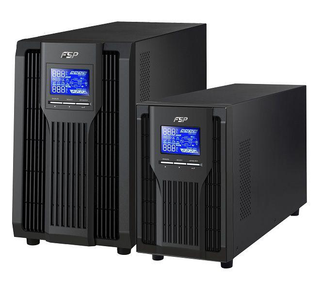 Nepertraukiamo maitinimo šaltinis CHAMP 3000VA 2400W, Online, Tower, FSP