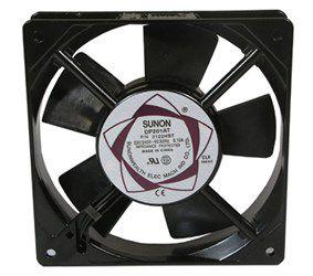 Ventiliatorius 120x120X25mm 230VAC 19W 112m³/h 45.0dBA su g. SUNON RoHS