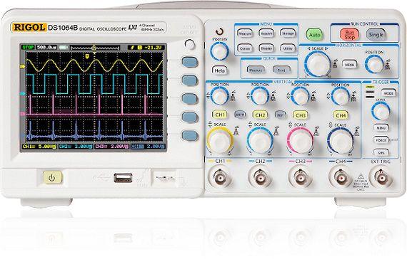 Osciloskopas DS1074B 4 kanalų 70MHz, 2GSa/s RIGOL
