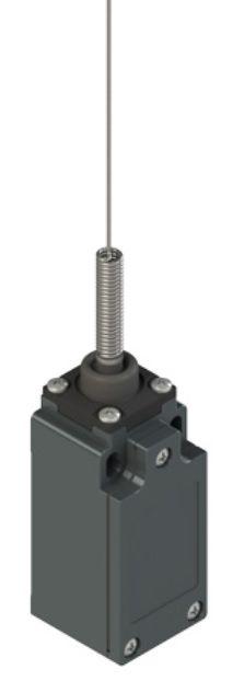 Galinės padėties jungiklis su spyruokle plieniniu antgaliu FM 521-M2K23, Pizzato