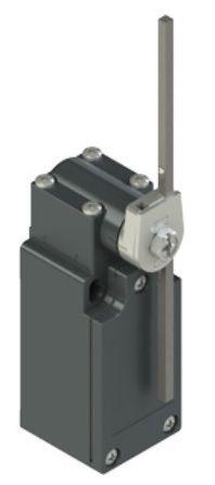 Galinės padėties jungiklis su keičiamo ilgio svirtele FM 533-M2K23, Pizzato