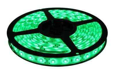 LED juosta 12V 4.8W/m nehermetiška žalia ECO