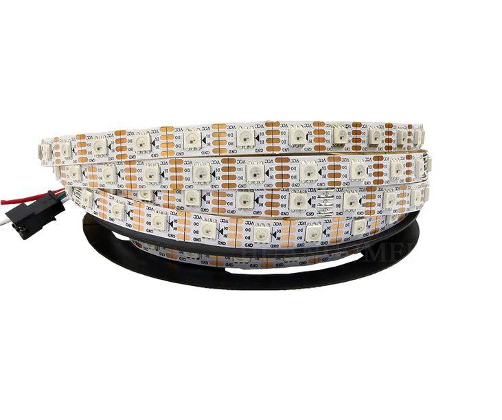LED juosta 12V 14.4W/m WS2815 60 LED/m RGB IC skaitmeninė nehermetinė IP20