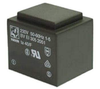 Transformatorius 230V/9V 0.334A 3VA Hahn, RoHS