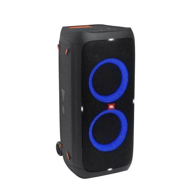 Nešiojama garso sistema 240W su šviesos efektais ir laidiniu mikrofonu