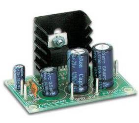 Konstruktorius galinis žemo dažnio stiprintuvas 7W (TDA2003)