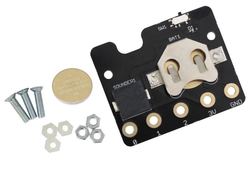 Rezervinio maitinimo modulis su baterija CR2032 skirtas BBC micro:bit