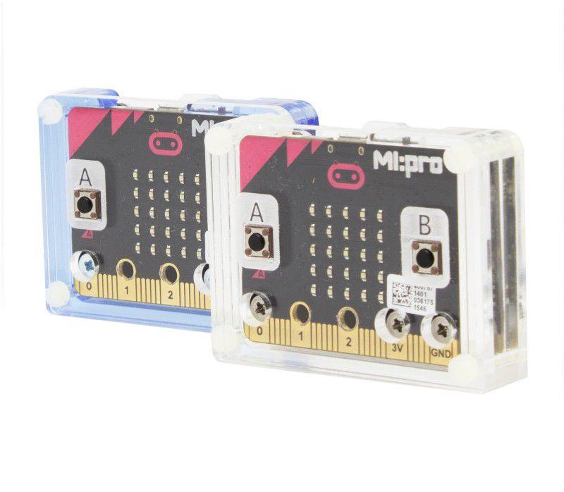 Korpusas (mėlynas) mikro kompiuteriui BBC micro:bit, naudojant kartu su MI:power (KIT5610)