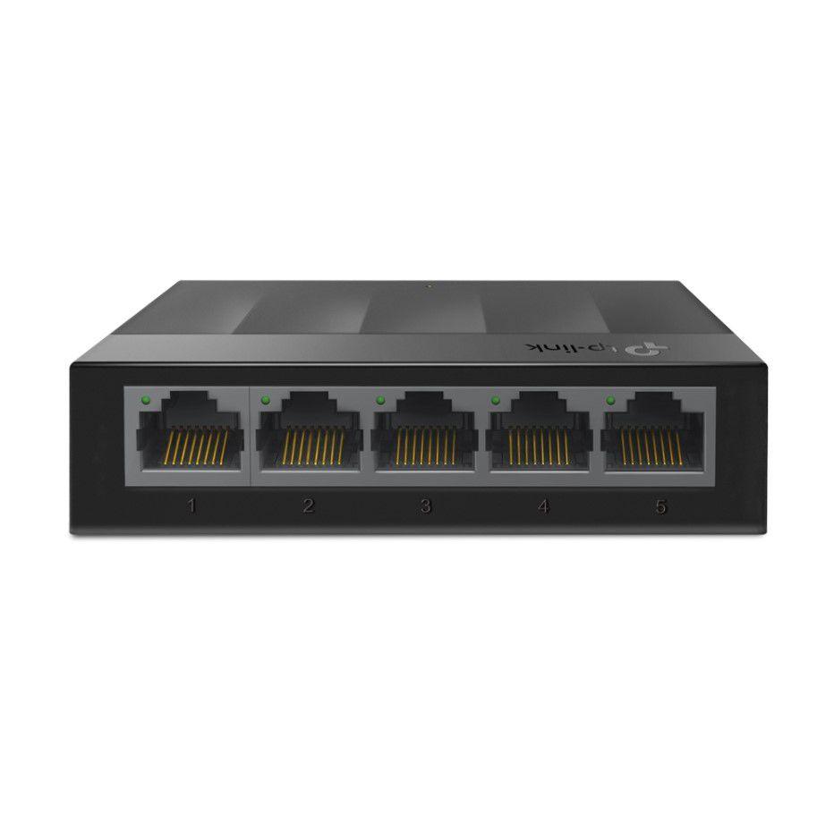 Komutatorius 5xLAN Gigabit 10/100/1000Mbit/s LiteWave