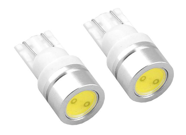 LED lemputės T10 HP 1W standartinės, 2vnt, AMIO
