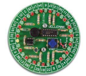 """Mini konstruktorius elektroninis žaidimas """"Ruletė"""""""