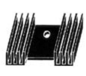 Radiatorius 44x35x12mm TO220/TO3P