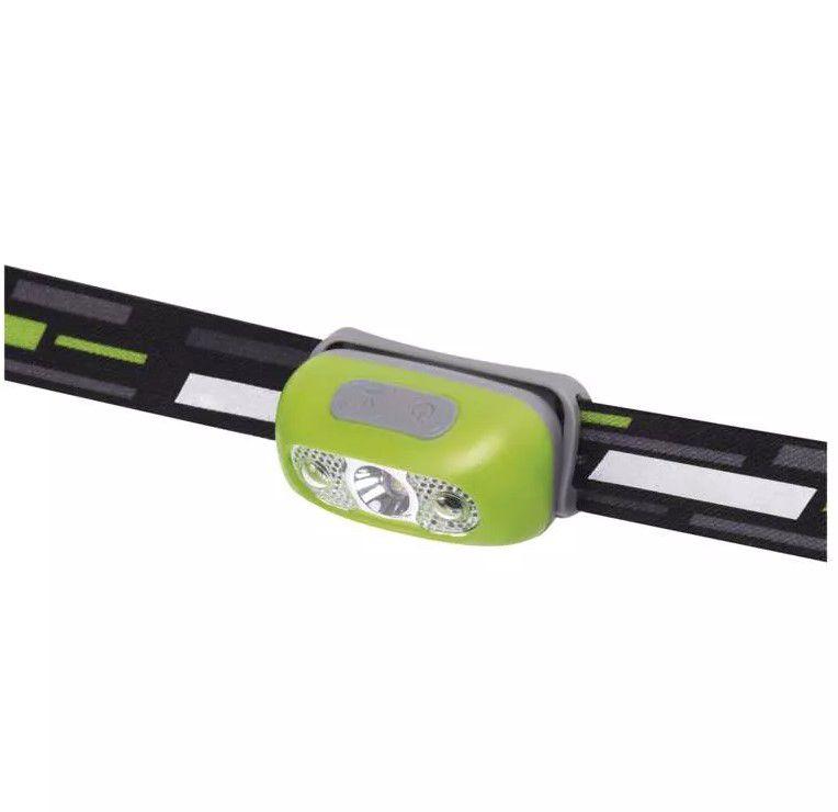 Žibintuvėlis ant galvos, LED 5W CREE, 230lm, 1200mAh baterija, įkraunamas Micro USB, EMOS