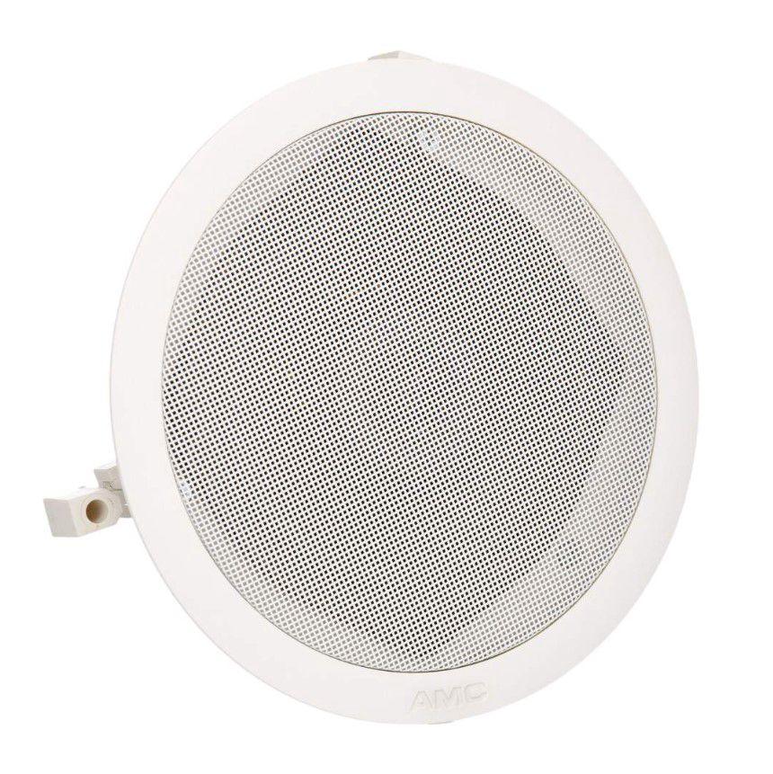 Žemaomis lubinis garsiakalbis plastikiniu korpusu 20W ø190mm (baltas)