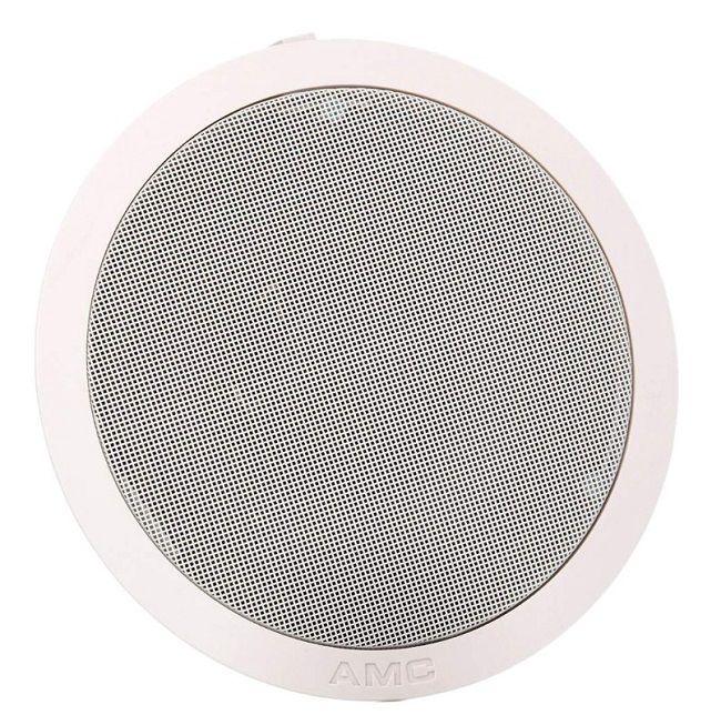 Žemaomiai lubiniai garsiakalbiai plastikiniu korpusu 50W ø204mm (2 vnt), balti