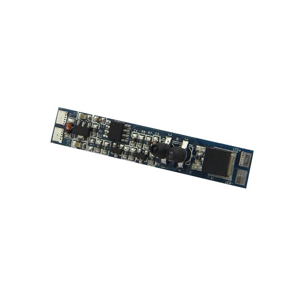 LED juostos valdiklis, pritemdomas, montuojamas į profilį 12-24Vdc 8A valdomas rankos mostu