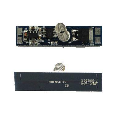 LED juostos valdiklis 12-24Vdc, 8A, montuojamas į profilį