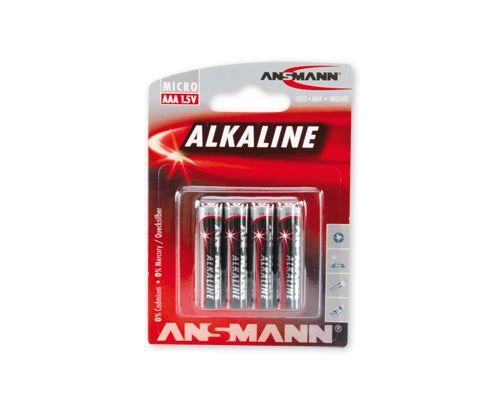 Šarminė baterija R3 (AAA) 1.5V ANSMANN (4vnt blisteryje)