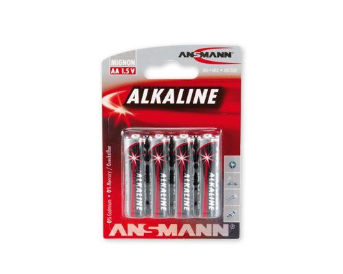 Šarminė baterija R6 (AA) 1.5V ANSMANN (4vnt blisteryje)