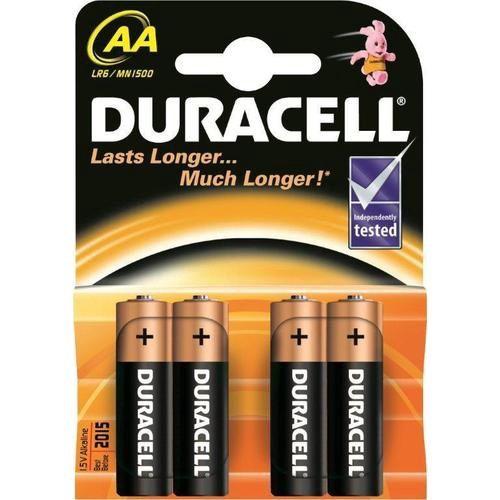 Šarminė baterija R6 (AA) 1.5V Duracell (4vnt blisteryje)