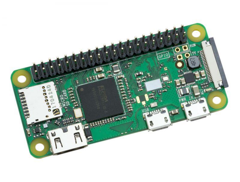 Kompiuteris RASPBERRY Pi Zero Wireless